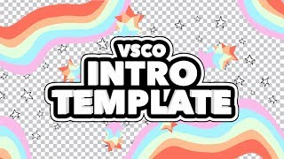TUMBLR VSCO INTRO TEMPLATE (NO TEXT)