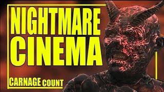 Nightmare Cinema (2018) Carnage Count