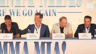 Mamma Mia! Here We Go Again - Press Conference - Pierce Brosnan, Andy Garcia, Jeremy Irvine