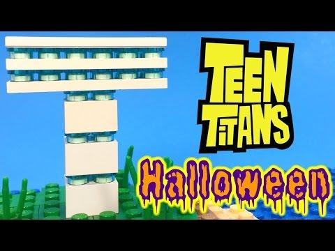 TEEN TITANS - BEAST BOY Picks a Halloween Costume | LEGO Story