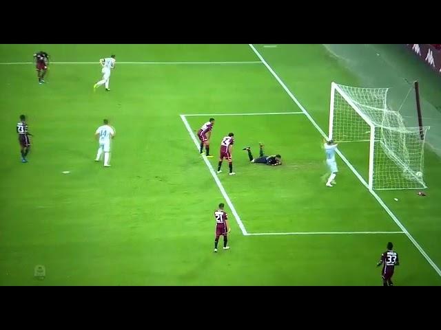 Dzeko gol(assist Kluivert) in Torino-Roma 0-1 19-09-2018