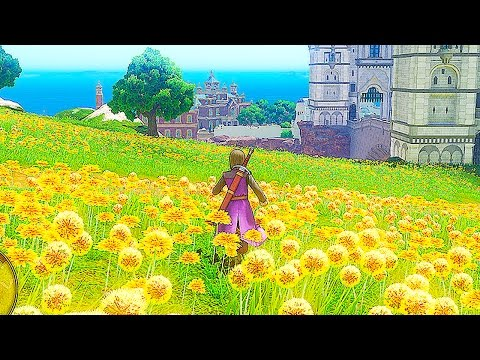 DRAGON QUEST XI 69 Minutes of Gameplay Demo PS4 2017 (DRAGON QUEST 11 Gameplay) PS4 & 3DS Footage