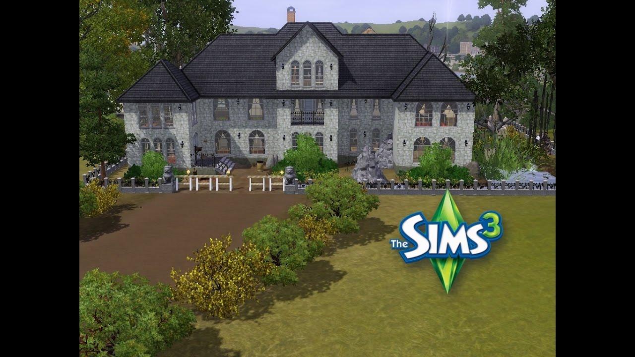 Sims 3 haus bauen lets build halloween special eine fast verlassene villa
