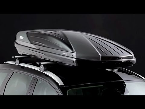 roof box thule excellence xt youtube. Black Bedroom Furniture Sets. Home Design Ideas