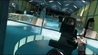 VR Gun stock video