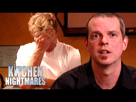 Stressed Waiter Reaches His Breaking Point | Kitchen Nightmares
