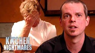 Stressed Waiter Reaches His Breaking Point   Kitchen Nightmares