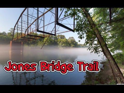 GoPro:Hiking Jones Bridge Trail on the Chattahoochee River Georgia