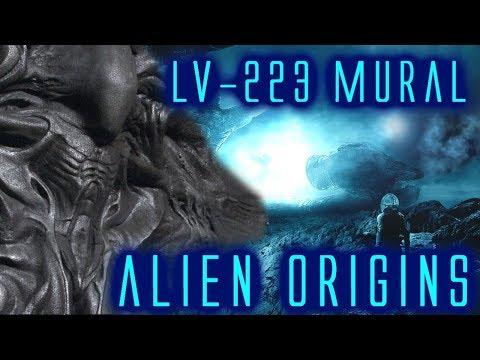 The alien xenomorph original ideas that didn 39 t make i for Prometheus xenomorph mural