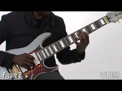 """Prog-gnosis with Tosin Abasi - Feb 2013 - Playing in 6/4, and the Hybrid-Picked Arpeggios in """"David"""""""
