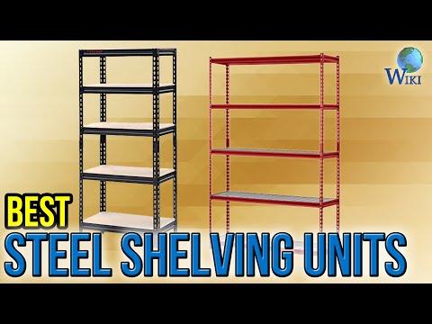 7 Best Steel Shelving Units 2017