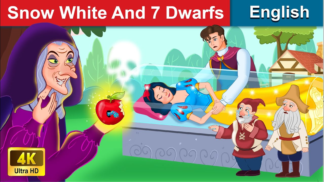 Snow White And Seven Dwarfs 🍎 Bedtime stories 🌛 Fairy Tales For Teenagers | WOA Fairy Tales