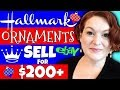 Hallmark Christmas Ornaments Sell For $200 or More on Ebay - What To Sell On Ebay