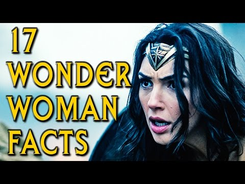 17 WONDER WOMAN Movie Facts You Didn't Know!