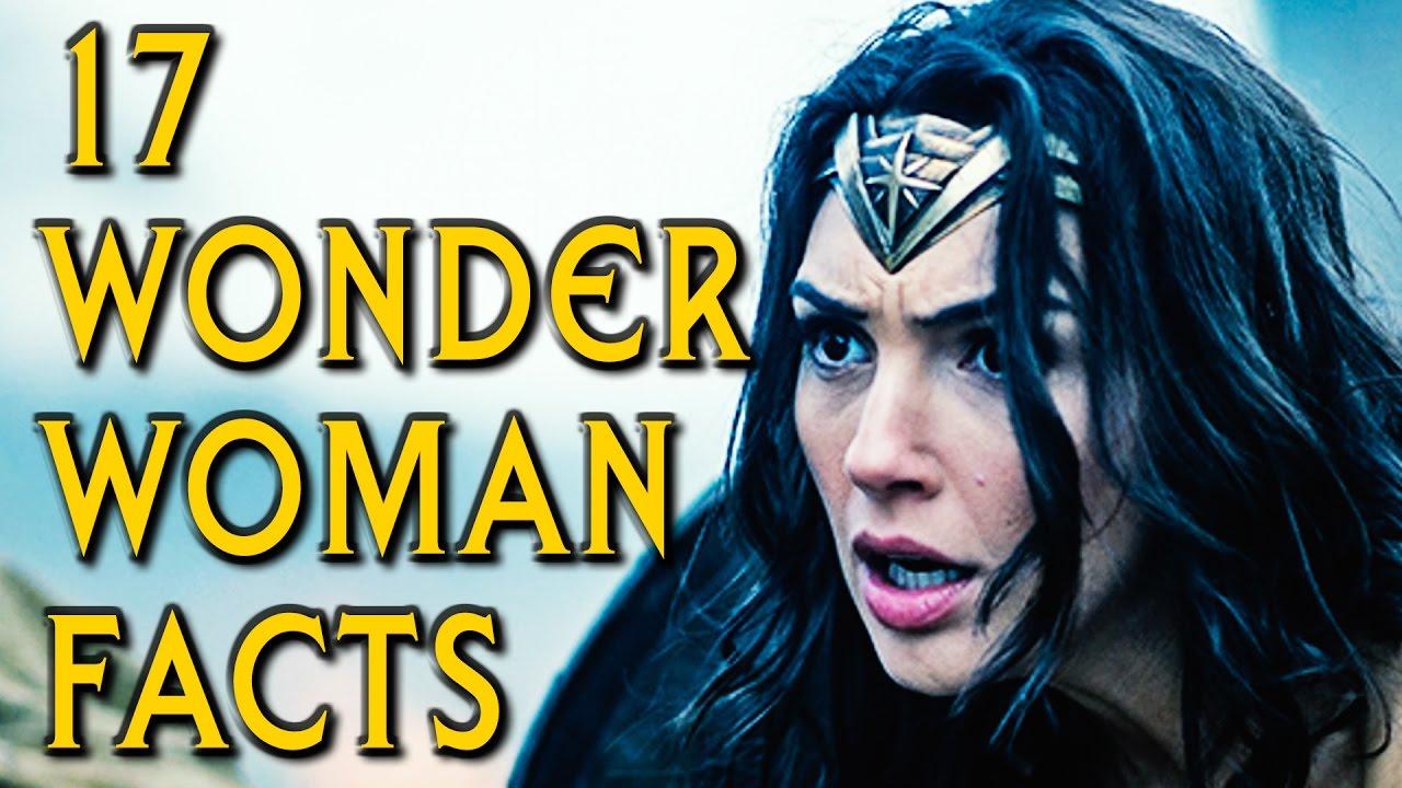 17 wonder woman movie