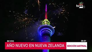 Año Nuevo: Nueva Zelanda recibió el 2020