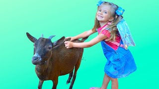 Old Macdonald had a farm. Baby Song. Kids and Daddy have a fun time on the farm. Baby Time for kids.
