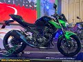 New Kawasaki Z400 Se Abs And Z250 Launched First Look