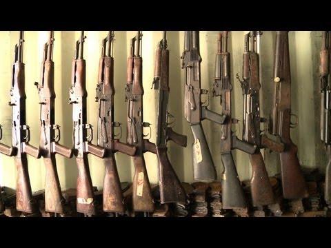 Abidjan hosts flourishing trade in automatic weapons