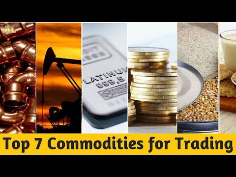 Top 7 Commodities For Your Trades In Indian Stock Market