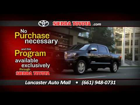 High Quality Sierra Toyota Keep Your Car Event Lancaster, CA