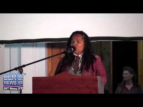 Tiffany Paynter At Earth Hour Celebrations, Mar 29 2014