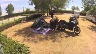 Camping in Evora