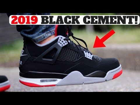 finest selection d4f0d 8a4a3 AIR JORDAN 4 BLACK CEMENT
