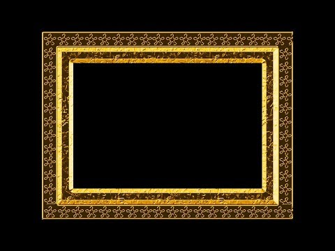 Photoshop Basic Tutorial Golden frame making