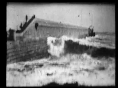 01 Rough sea at Dover Robert W Paul, 1895