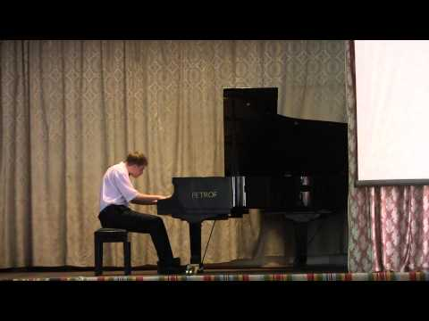 Alexandru Prigalo at International Piano Competition \