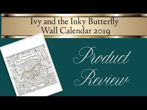 Ivy and the Inky Butterfly 2019 Wall Calendar | Review from YouTube · Duration:  8 minutes 16 seconds