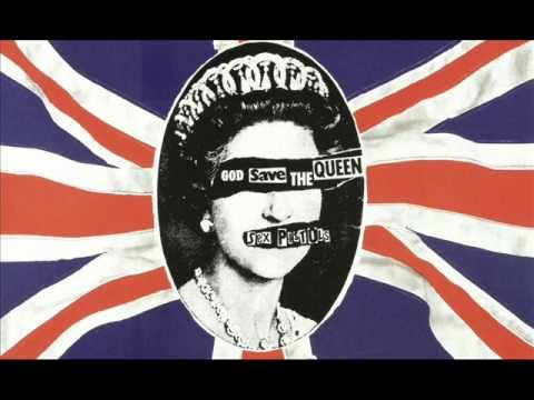 """God Save The Queen  - Neil Barnes & the Sex Pistols 7"""" extended mix"""