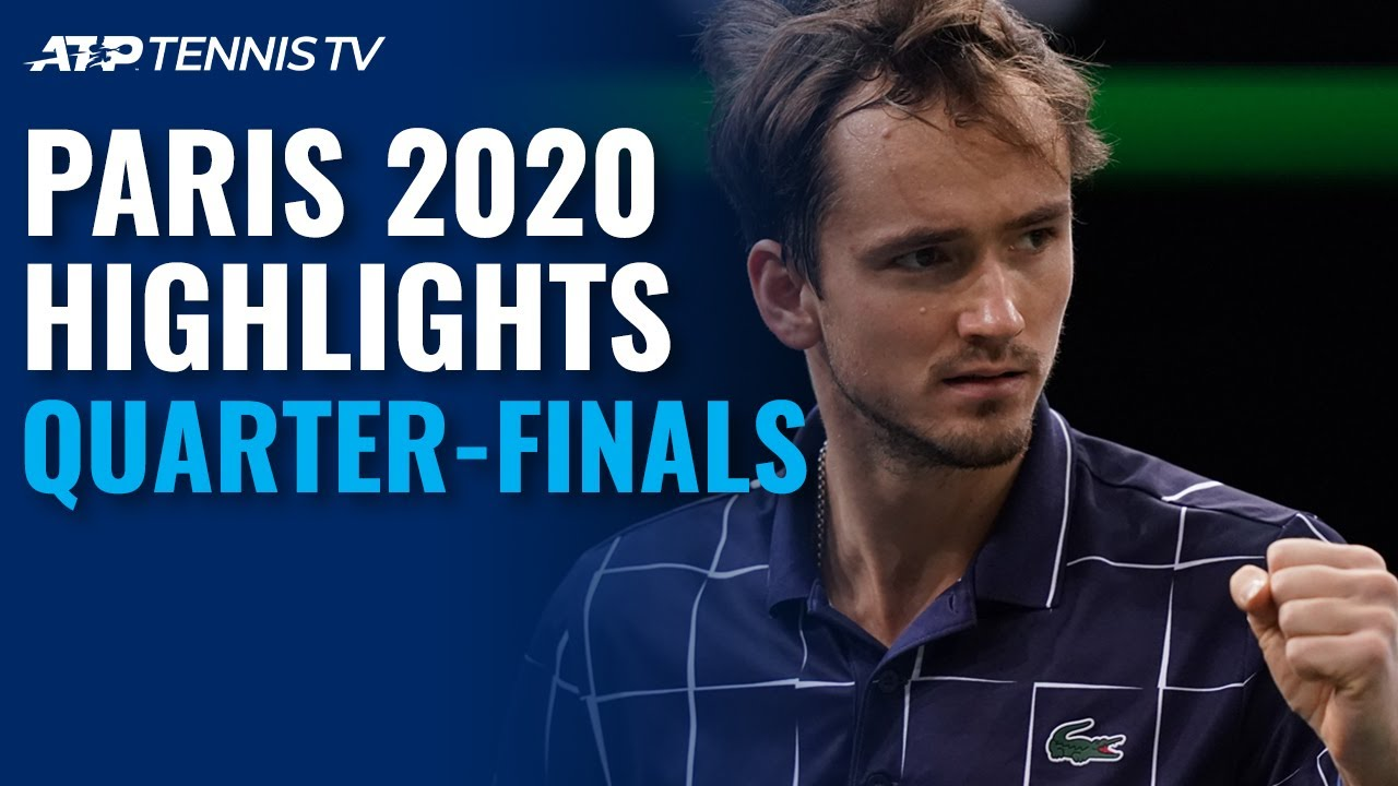 Medvedev Surging; Nadal Rides On | Paris 2020 Quarter-Final Highlights -  YouTube