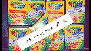 Family Dollar | RUN DEAL!! | Cheap Crayola !! No Coupons Needed !!