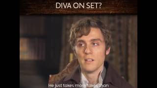 BBC One «Who's the biggest diva on the set of #Poldark 💅»