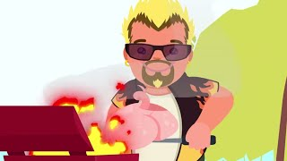 The Legend of Guy Fieri in 3 (ish) Minutes | ArcadeCloud Animation