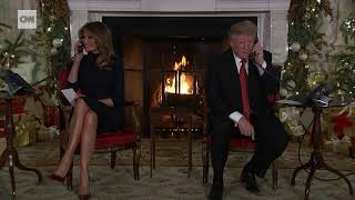 Trump asks 7-year-old, 'Are you still a believer in Santa?'
