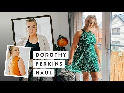 Dorothy Perkins Summer Autumn Try On Haul | Curve Fashion