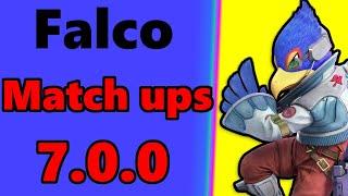 Falco Match Ups 7 0 0