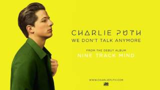 Video Charlie Puth   We Don't Talk Anymore Official Audio download MP3, 3GP, MP4, WEBM, AVI, FLV Januari 2018