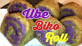 How to cook Ube biko roll? #Ubebikoroll