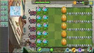 Plants vs Zombies 2 - Pinata 07-04-14 Snow Pea - Wall Nut - Spike Rock - Plants vs Zombies 2
