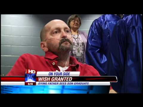 Thumbnail: Father's dying wish to see son graduate