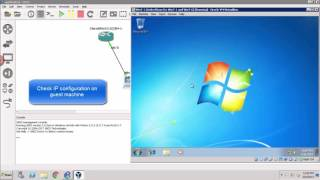 Hosted GNS3: Connect virtualbox VM to GNS3