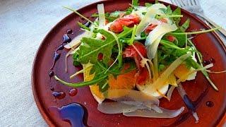Салат с Апельсинами и Мясом. Салат Fifteen. Самый Вкусный Салат без майонеза.