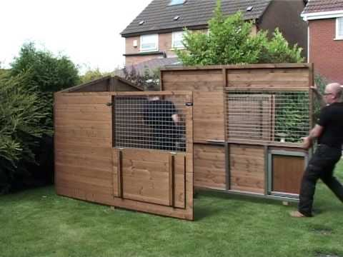 Timberbuild Dog Kennel And Run Being Embled You