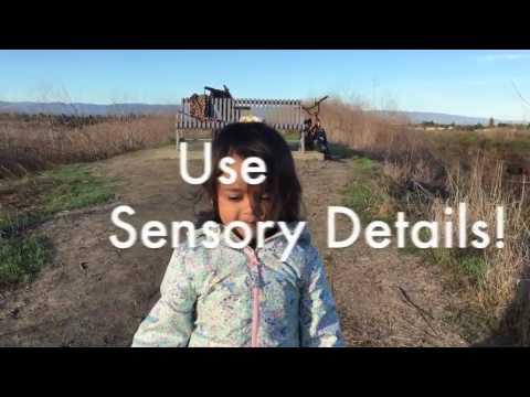 Sensory Details Rap