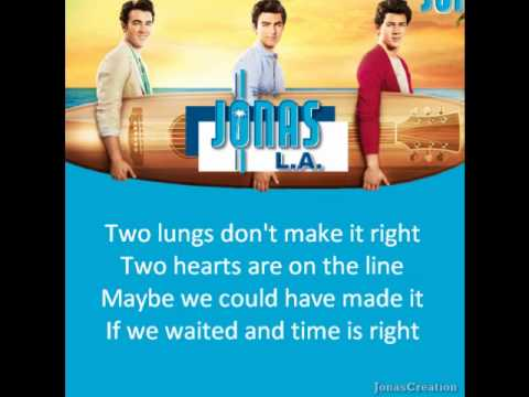 Jonas Brothers - Things Will Never Be The Same mp3 indir