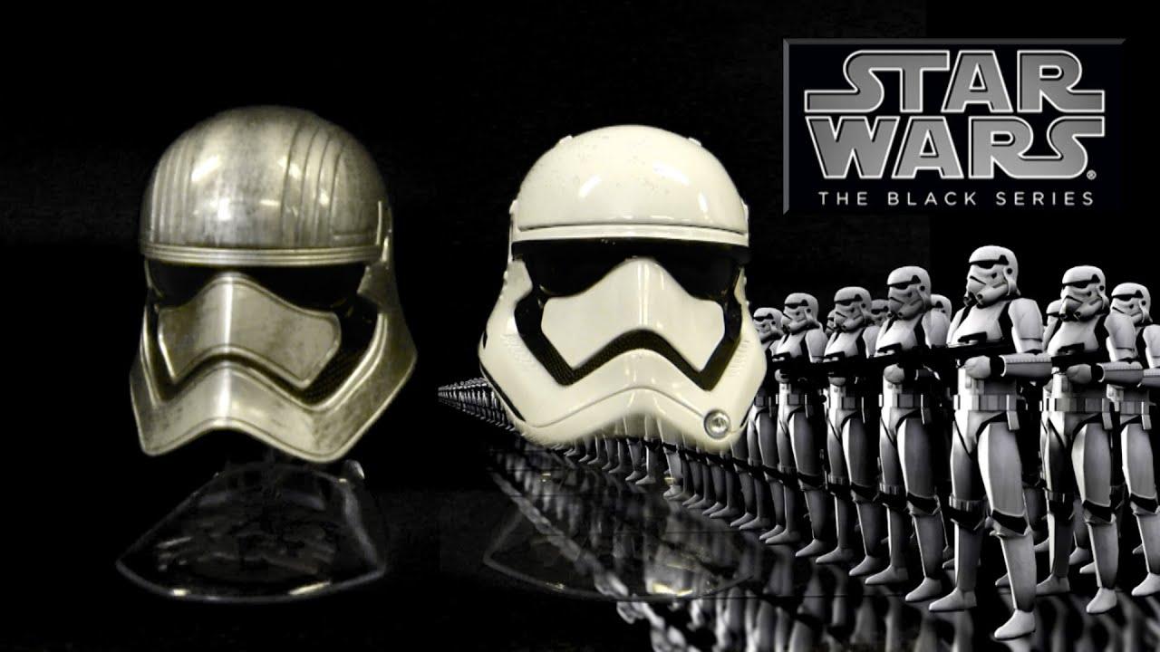 Star Wars The Black Series Titanium Series Captain Phasma New